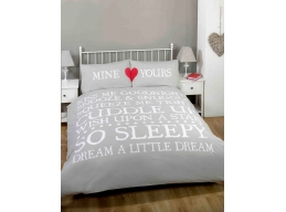MINE YOURS DUVET SETS