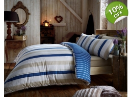 CRESSIDA DUVET SET 100% BRUSHED COTTON