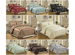 BETTY JACQUARD BEDSPREAD SET