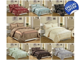 BETTY JACQUARD DUVET SET