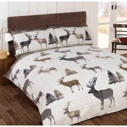 WOODLAND STAG NATURAL SINGLE..