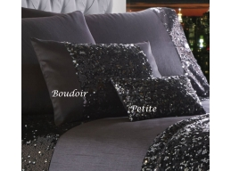 DAZZLE CHARCOAL PETIT FILLED CUSHION