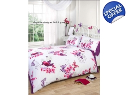 Parisian Butterfly 5 piece set Kingsize