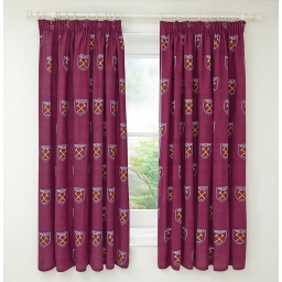WEST HAM CURTAINS 66X72