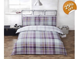 HEATHER TARTAN KINGSIZE
