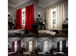FAUX FUR CURTAINS
