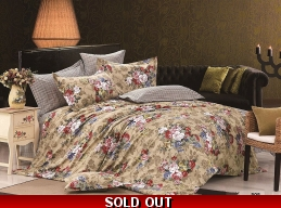 FLORAL 300TC 100% EGYPTIAN COTTON COMPLETE SET