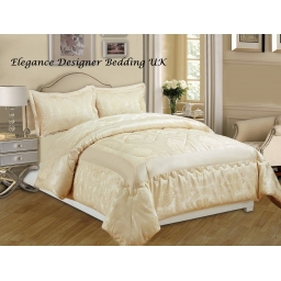 BETTY CREAM KING BEDSPREAD