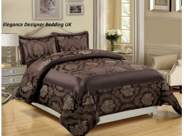 BETTY CHOCOLATE SUPERKING BEDSPREAD