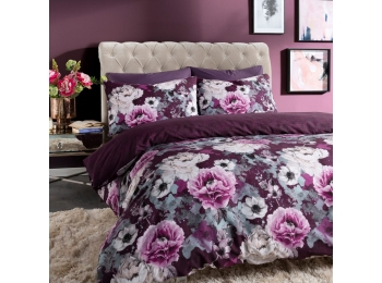 INKY FLORAL PURPLE