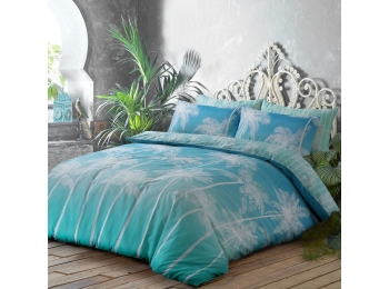 OMBRE PALMS TEAL
