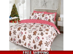 CHRISTMAS BEDDING FREE DELIVERY