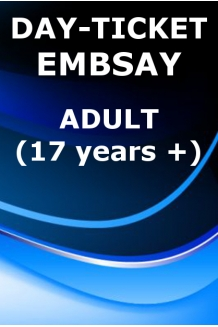 DAY-TICKET. ADULT. EMBSAY