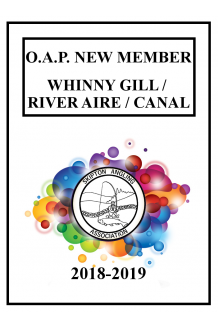 WHINNY GILL, RIVER AIRE & CANAL - NEW MEMBER O.A.P