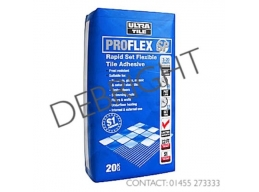 Ultra Tile Grey ProFlex SP Rapid Set Flexible Tile Adhesive