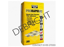 Ultra Tile Grey ProRapid RS Rapid Set Flexible Tile Adhesive