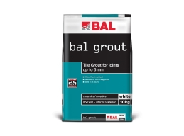 BAL White Wall Grout 10kg