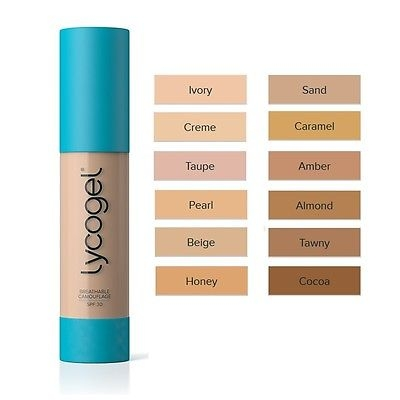 Lycogel Breathable Camouflage Honey 20ml