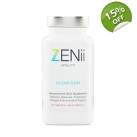 Zenii Clear Skin Supplements 90 Tablets