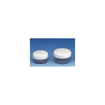 4 x 10ml Cosmetic Jars with Lids