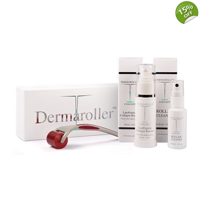 Genuine Dermaroller Home Use Meso Rejuvenation Kit