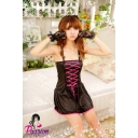 Goth Black BabyDoll Dress