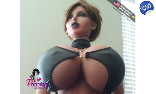Gina - Type A - 158cm World's Biggest Breast Mannequin Doll Goth Style