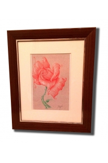 Deepa Rose Framed ..