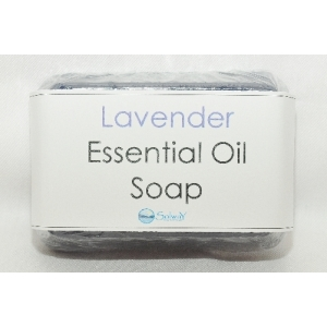 Lavender Essential oil clear Soap