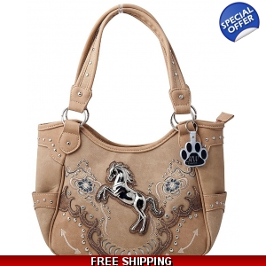 862a971e7e79 Western Horse Handbags Cowgirl Purses Carry Concealed-HW Collection