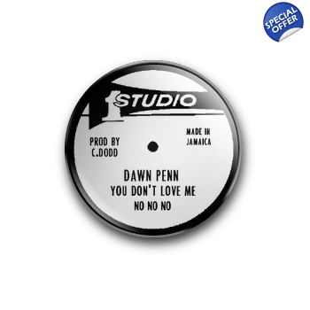 STUDIO 1 DAWN PENN NO NO NO 25MM BADGE