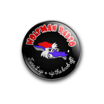 Wolfman Radio Official 25mm Badge