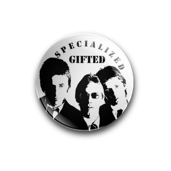 Specialized 'Gifted' The Jam Line Up 25mm badge