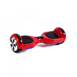 Burning Red Disco Hoverboard