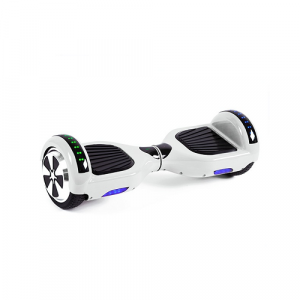 White Disco Hoverboard
