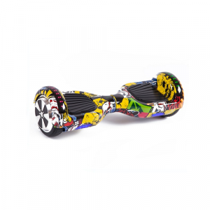 Graffiti Disco Hoverboard