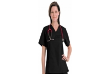 2 Pocket Basic Unisex Scrub Top