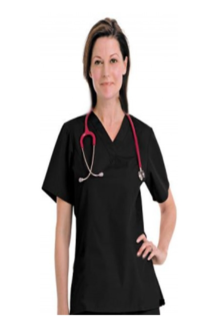 2 Pocket Basic Unisex Scrub Tops