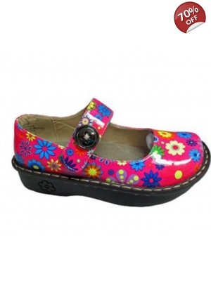 Flower Nursing Shoes