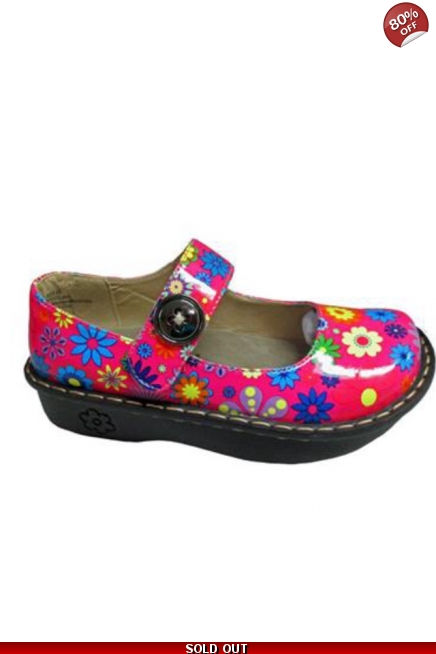 Kagen Flower Nursing Shoes