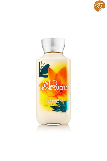Bath & Body Works Wild Honeysuckle Lotion 8 oz Gift