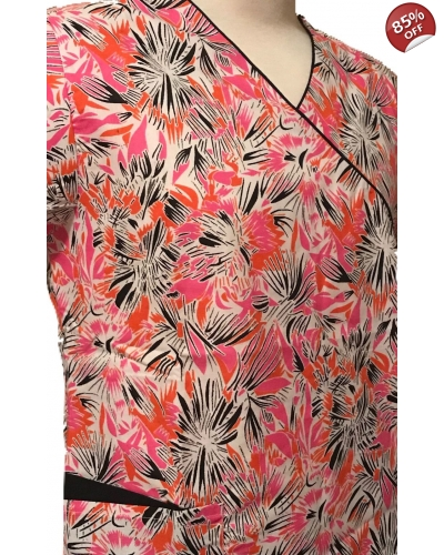 Pink  Beverly Hills Scrub Tops