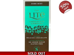 Dark Mint Belgian Chocolate Bar 85g No Added Sug..