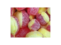 Rhubarb & Custard Barnetts Boiled Sugar Free Sweets 100g