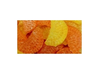Orange & Lemon Slices Barnetts Boiled Sugar Free Sweets 100g
