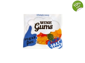 De Bron Sugar Free Wine Gums Sweets 100g Bag