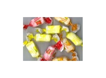 Sugar Free Fruit Juice Toffees Wrapped Sweets 100g