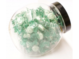 Balsamic Mint Candies Sugar Free Sweets Gift Jar 100g