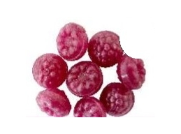 Intensive Raspberry Boiled Sugar Free Sweets 100g