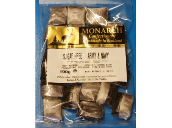 Army & Navy Monarch Sugar Free Boiled Sweets 100g